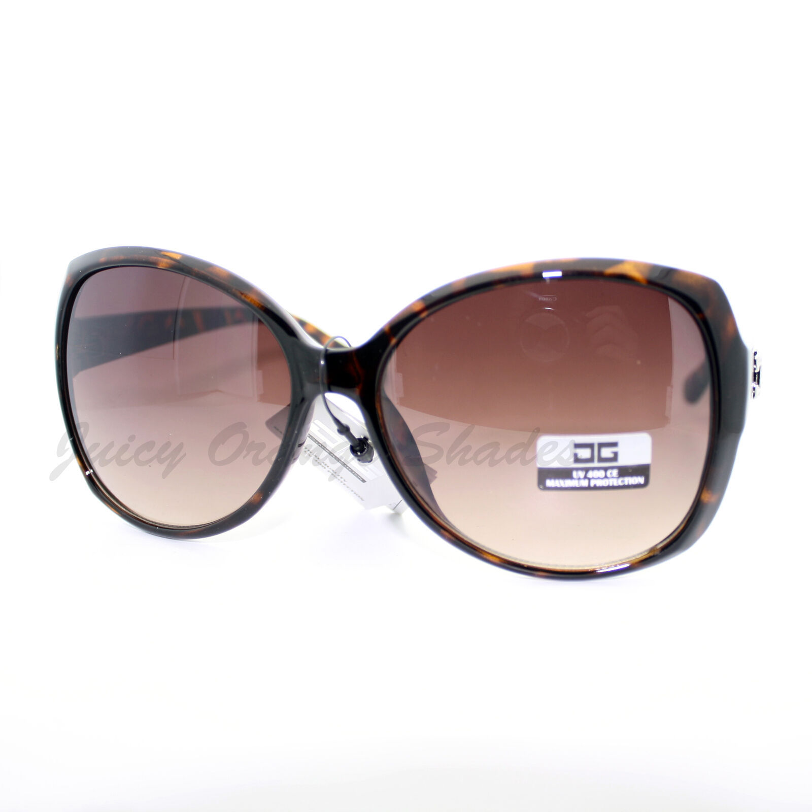Designer Fashion Womens Sunglasses Oversize Round Butterfly Frame
