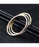 [Jewelry] Titanium Steel Band Ring 1mm Thickness - $124,32 MXN