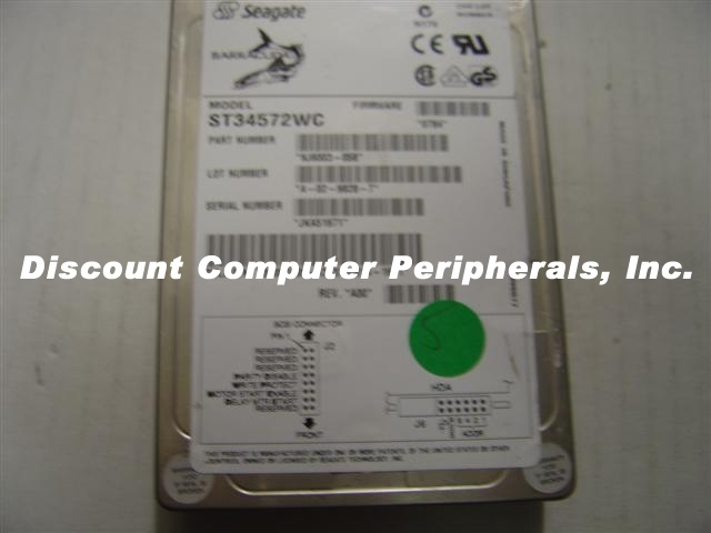 4GB 3.5IN 3H SCSI SCA 80PIN SEAGATE ST34572WC Free USA Ship Our Drives Work