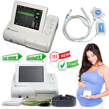 24Hours real time Digital Fetal Monitor FHR Fetal Movement Machine+Print... - $409.36