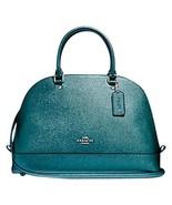 New Coach Crossgrain Micro Mini Sierra Crossbody Leather Handbag 41246 T... - $97.02