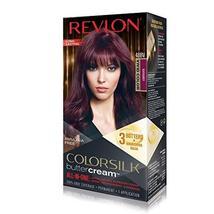 Revlon Luxurious Colorsilk Buttercream, Vivid Burgundy - $19.79