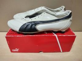Puma Vencida II i FG White,Black,Team Gold Size 13 US Soccer Cleats - $56.05