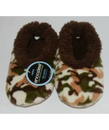 Snoozies KCM002 Foot Coverings Natural Brown Camo Size Kids 2 And 3 - $12.99