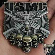"MARINE CORPS COLONEL 3D 2"" CHALLENGE COIN  - $15.19"