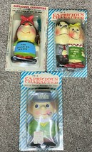 Vintage Capricious Character Enesco Joke Figures Lot of 3 Japan Porcelain Irish - $13.00