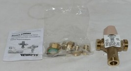 Watts Thermostatic Mixing Valve 0559116 1/2 Inch Domestic Hot Water Systems image 1
