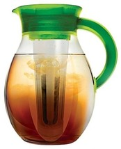 Iced Tea And Cold Coffee Brewer 1-Gallon Refrigerator Jug Filtered Cool ... - $39.87