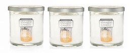 Yankee Candle Winter Glow Small Tumbler Candle Single Wick - Lot of 3 - $38.50