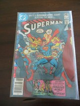DC COMIC BOOK,WHY IS SUPERMAN FIRING SQUAD BLASTING THE REAL SUPERMAN,NO... - $13.50