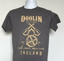 Doolin Co Clare Ireland Ceo Caint Agus Craic T Shirt Mens Small Music Ch... - $21.73