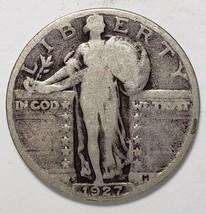 1927S STANDING LIBERTY QUARTER COIN Lot # 818-42