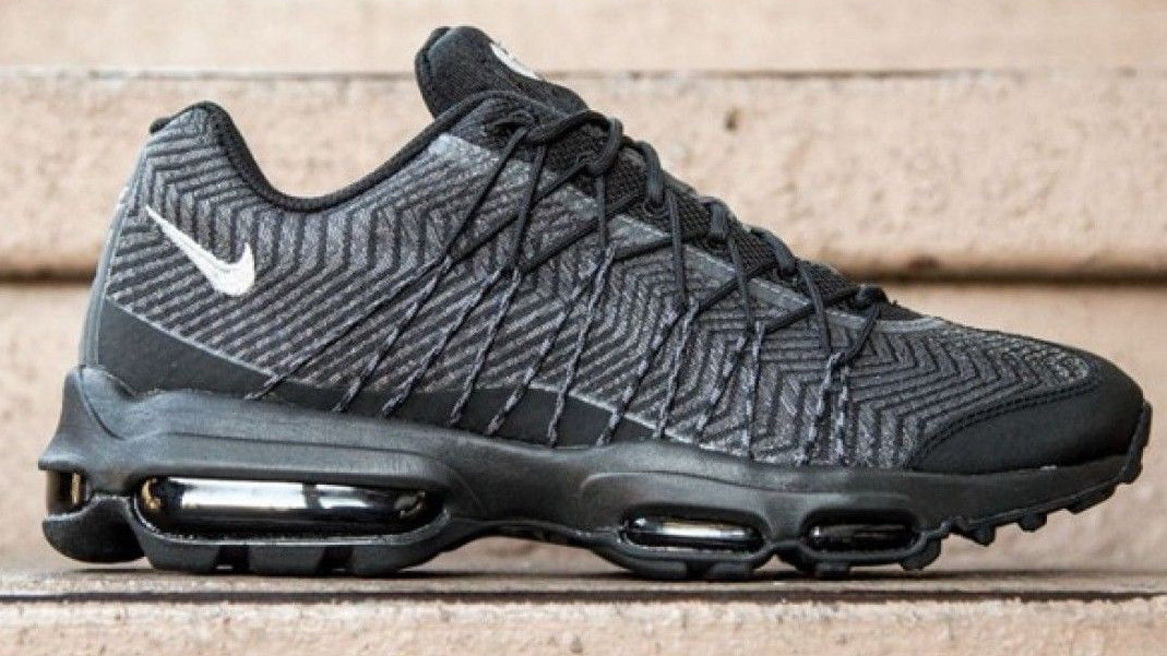 size 40 b6baa 28019 Nike Air Max 95 Ultra Jacquard Black Size and 49 similar items. 57