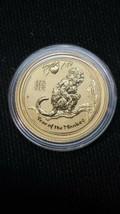 2016 1/10 oz Gold Year of The Monkey BU (In Capsule) Australia Perth Mint Lunar