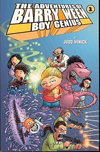 The Adventures of Barry Ween, Boy Genius [Aug 01, 2000] Judd Winick