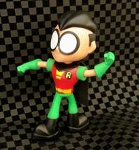 "2017 Robin 3.5"" McDonald's Action Figure #1 DC Teen Titans Go - $3.83"