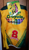 Crayola Adult Costume OSFM Crayon Box Rasta Imposta Halloween Holiday Outfit New - $37.99