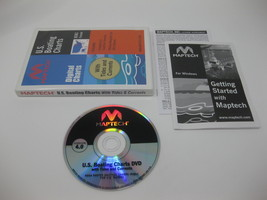 Maptech U.S. Boating Charts GPS Software DVD with BSB3 For Windows Versi... - $79.99