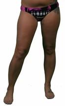 Iron Fist Bela's Dead Violet / Rose Bandeau Bikini Bas Taille:XL