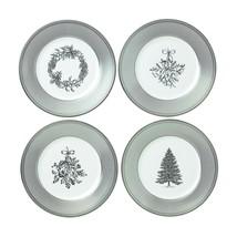 Wedgwood  Winter White Bone China Salad Plates Set Of 4  - $99.00