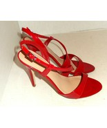 ALDO Sayloe Women's Red Patent Leather Strappy High Heels 40 B (Size 9) - $26.00