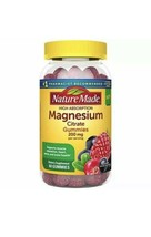 Nature Made High Absorption Magnesium Citrate Gummies 200mg 60 Gummies Exp 2022 - $32.00