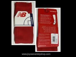 New Balance Baseball Socks Unisex Sz L Adult Red - $7.99