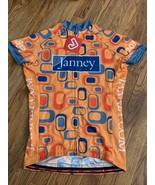 Nwt Jackroo Janney Orange Cycling Shirt Jersey Large - $29.69