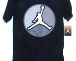 Air Jordan Nike Boys T-Shirt Jumpman Logo Black Size M 10-12 or Lg 12-13 NWT