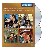 TCM Greatest Classic Film Collection: Legends - Errol Flynn The Adventur... - $56.40