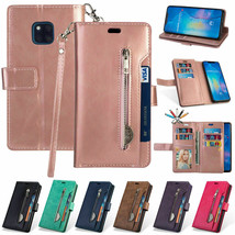 Wallet Leather Magnetic Flip CASE Cover  For Samsung S9 Plus S10 S8 J6 - $52.97