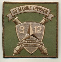 USMC 3rd Bn 12th Marines Subdued Patch - $1,000.00