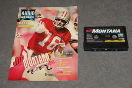 Joe Montana Audio All-Stars Collector's Issue #1 Magazine + Cassette Tap... - $7.00