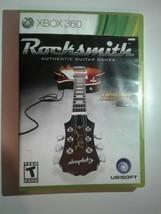 Rocksmith (Microsoft Xbox 360, 2011) - $6.88