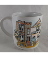 Vintage Thomas J. Lipton Mug Tea Coffee Cocoa San Francisco homes and br... - $12.86