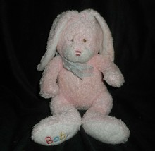 TY SOFT 2005 LOVE TO BABY PINK BUNNY RABBIT STUFFED ANIMAL PLUSH PLUFFIE... - $23.38