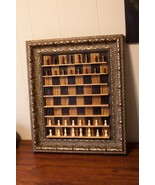 Wall Chess Board - Wood Burned Barnwood - Handcrafted - $1,499.00