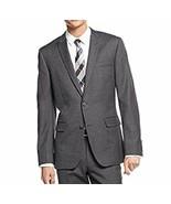 BAR III Mens Blazer Sz 36 Short Grey Slim Fit 2 Button Wool Career Suit ... - $140.82