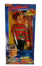 "NEW 1989 Matchbox Nightmare on Elm Street Talking 18"" Freddy Krueger #3150 - $125.13"