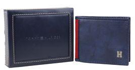 Tommy Hilfiger Men's Leather Credit Card Id Traveler Rfid Wallet 31TL240004 image 9