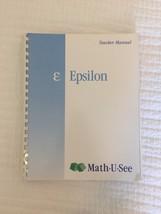 Mathusee Epsilon Instruction Manual Pack (Instruction manual and DVD) - $23.33