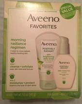 Aveeno Favorites from Positively Radiant Daily Scrub & Moisturizer Value Set - $17.95