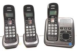 Uniden D1484-3 DECT 6.0 Digital Answering System 3 Handsets Plus Cradle ... - $34.60