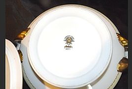 Noritake China Nana Rosa Pattern # 682 Tureen Serving AB 336-G Vintage 2 Piece image 9