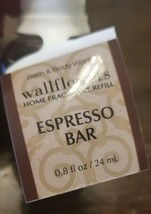 NEW Bath & Body Works Wallflowers ESPRESSO BAR Fragrance Refill Bulb - $9.99