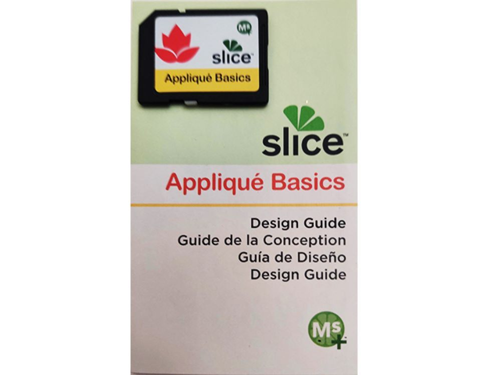 Slice Applique Basics Design Card and Design Guide, Cards & Scrapbooking