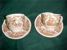 Fair Winds Alfred Meakin Staffordshire China NY Seal Cup NY Harbor Sauce... - $10.95