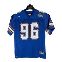 Nike Team Florida Gators #96 Youth Size Medium Blue College Football Jersey - $19.76