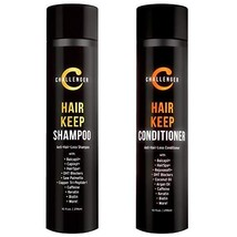 Hair Keep Combo - Hair Growth Shampoo & Conditioner - Challenger DHT Blocking Pr