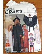 Costumes 6 8 Angel Witch Rapunzel Count Dracula Super Hero McCalls Patte... - $7.00